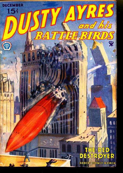 Dusty Ayres and His Battle Birds - 12/34 - VGOOD - ID#: 80-95244