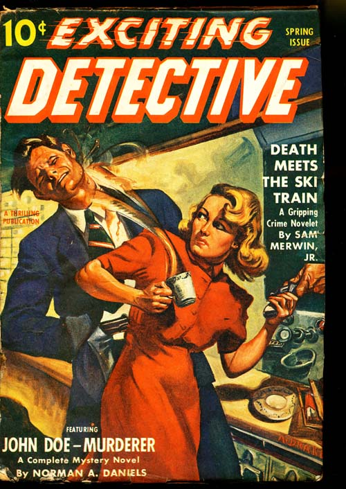 Exciting Detective - SPRING/42 - VGOOD - ID#: 80-95269