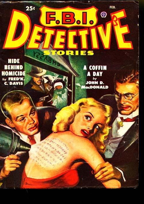 F.B.I. Detective Stories - 02/49 - VGOOD + - ID#: 80-95272