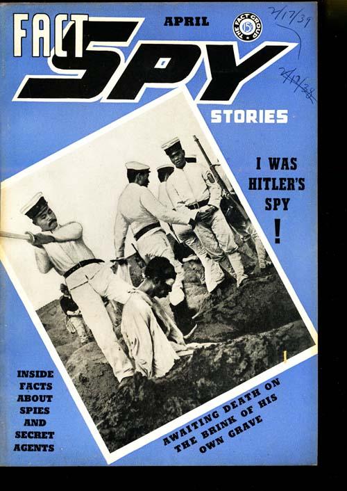 Fact Spy Stories - 04/39 - FINE + - ID#: 80-95274