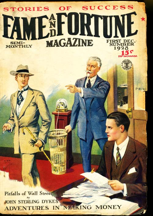 Fame And Fortune Magazine - 12/10/28 - GOOD + - ID#: 80-95277