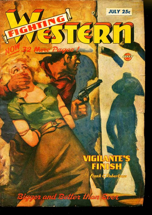 Fighting Western - 07/48 - GOOD + - ID#: 80-95320