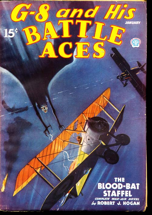 G-8 And His Battle Aces - 01/36 - VFINE - ID#: 80-95382