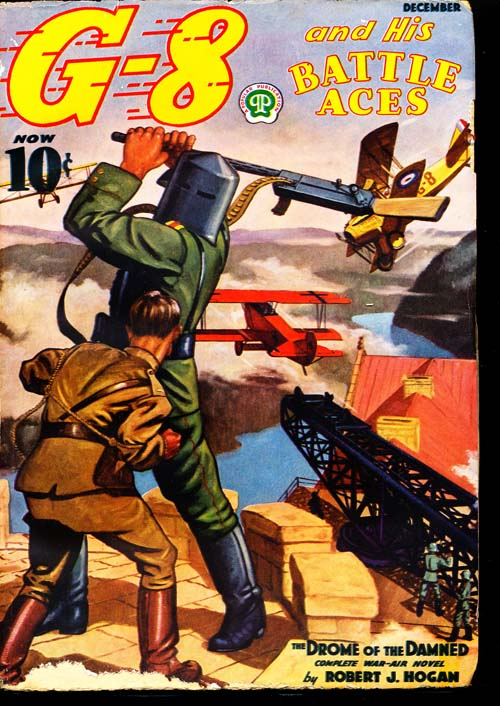 G-8 And His Battle Aces - 12/37 - VGOOD + - ID#: 80-95404