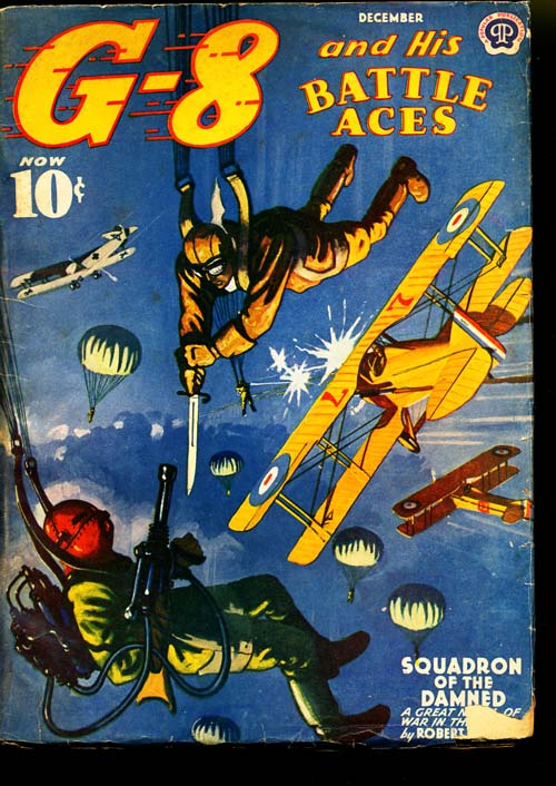 G-8 And His Battle Aces - 12/40 - VGOOD - ID#: 80-95440