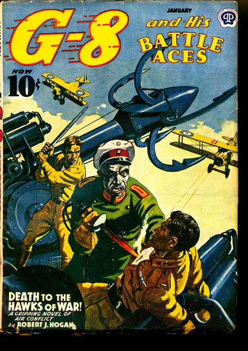 G-8 And His Battle Aces - 01/41 - FINE - ID#: 80-95441