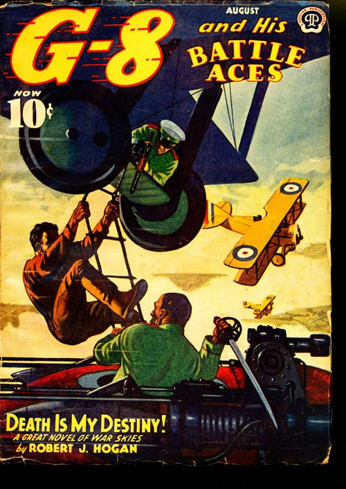 G-8 And His Battle Aces - 08/41 - VGOOD - ID#: 80-95446