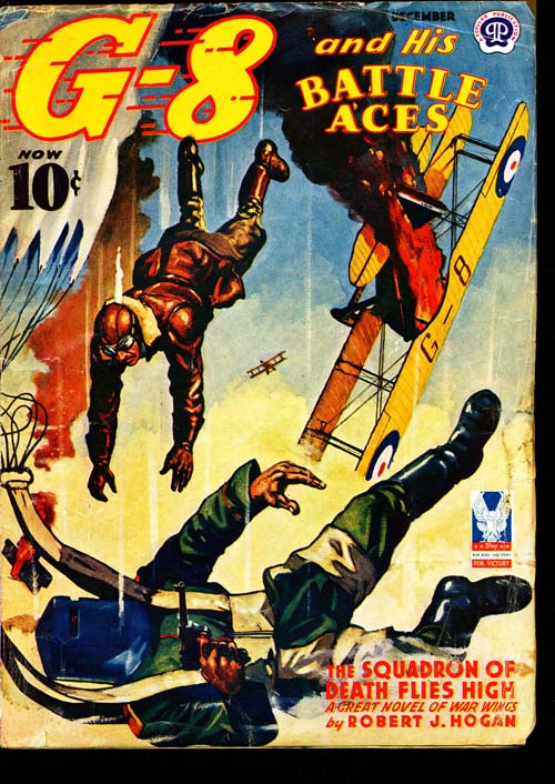 G-8 And His Battle Aces - 12/42 - VGOOD - ID#: 80-95454