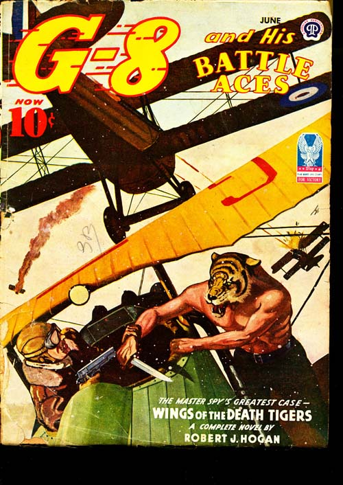 G-8 And His Battle Aces - 06/44 - GOOD + - ID#: 80-95463