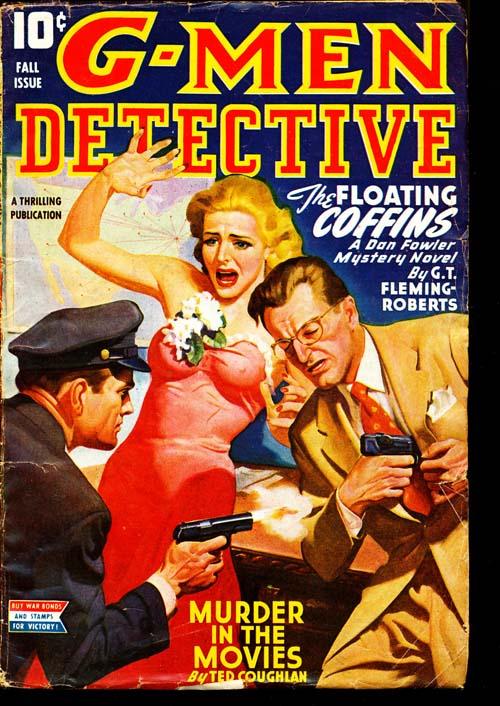 G-Men Detective - FALL/44 - VGOOD + - ID#: 80-95476