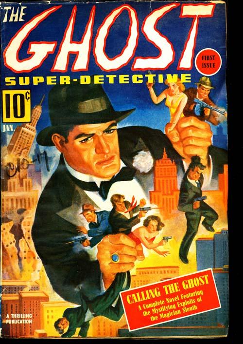 Ghost, Super-Detective - 01/40 - FINE - ID#: 80-95557