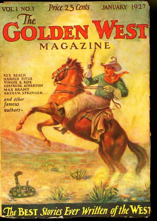 Golden West Magazine - 01/27 - POOR - ID#: 80-95570