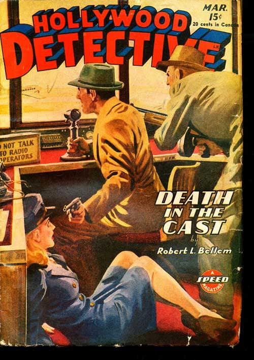 Hollywood Detective - 03/45 - GOOD + - ID#: 80-95621
