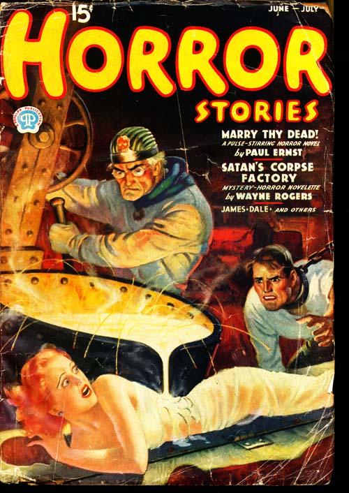 Horror Stories - 06-07/37 - GOOD + - ID#: 80-95646
