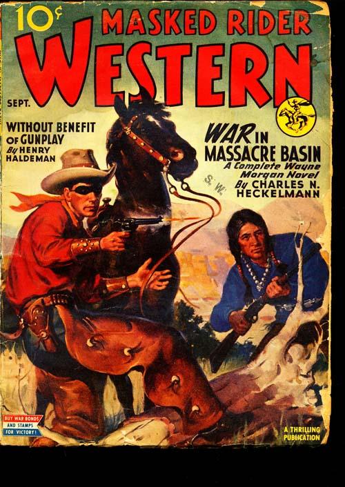 Masked Rider Western - 09/45 - GOOD+ - ID#: 80-95729