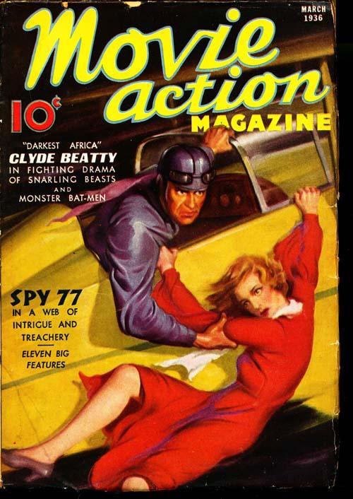 Movie Action Magazine - 03/36 - GOOD + - ID#: 80-95763