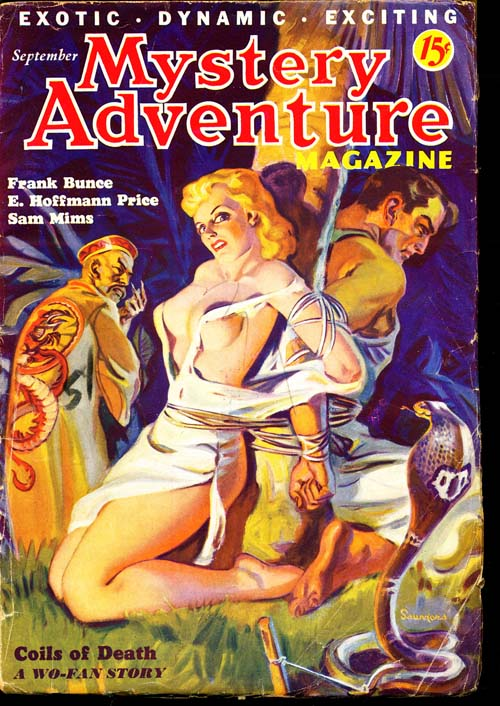 Mystery Adventure Magazine - 09/36 - VGOOD - ID#: 80-95781
