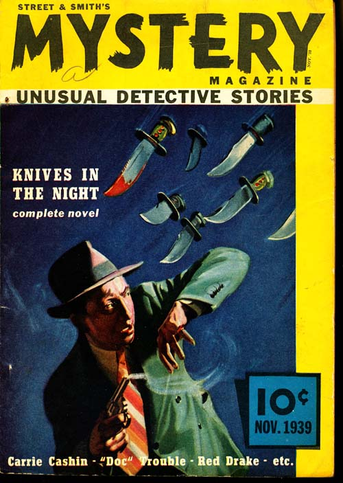 Street & Smith's Mystery Magazine - 11/39 - VGOOD - ID#: 80-95790