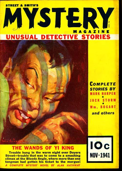 Street & Smith's Mystery Magazine - 11/41 - VGOOD - ID#: 80-95798