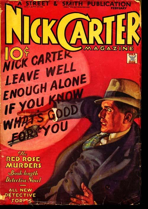 Nick Carter Magazine - 02/35 - GOOD + - ID#: 80-95864