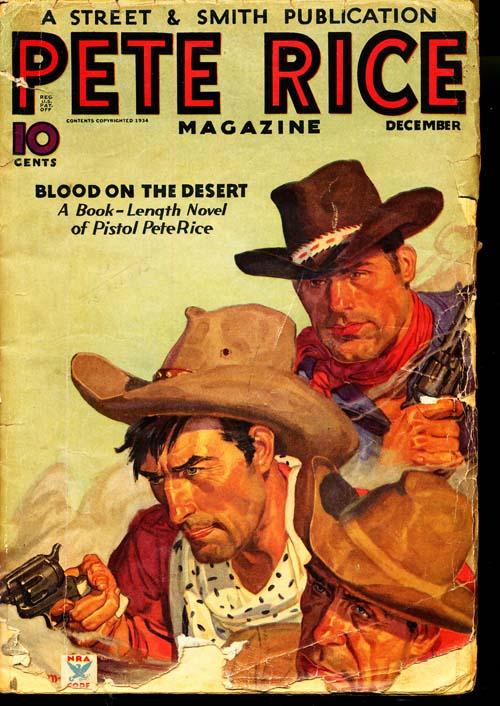 Pete Rice Magazine - 12/34 - GOOD - ID#: 80-95945