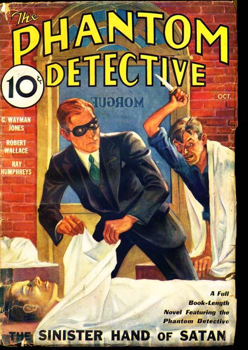 Phantom Detective - 10/33 - VGOOD + - ID#: 80-95954