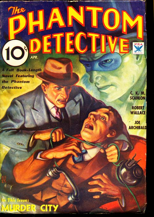 Phantom Detective - 04/34 - FINE + - ID#: 80-95957
