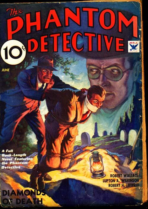 Phantom Detective - 06/34 - VGOOD + - ID#: 80-95958
