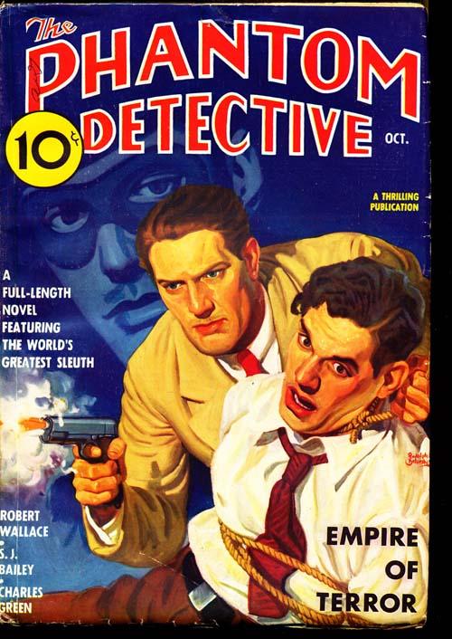 Phantom Detective - 10/36 - FINE + - ID#: 80-95973