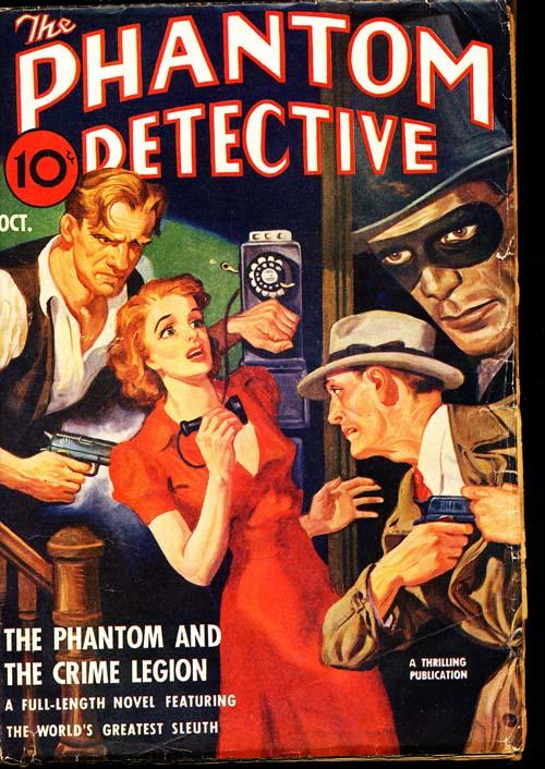Phantom Detective - 10/40 - VGOOD - ID#: 80-95993