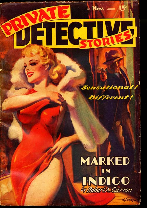 Private Detective Stories - 11/37 - VGOOD + - ID#: 80-96069