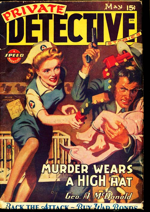 Private Detective Stories - 05/44 - VGOOD - ID#: 80-96088