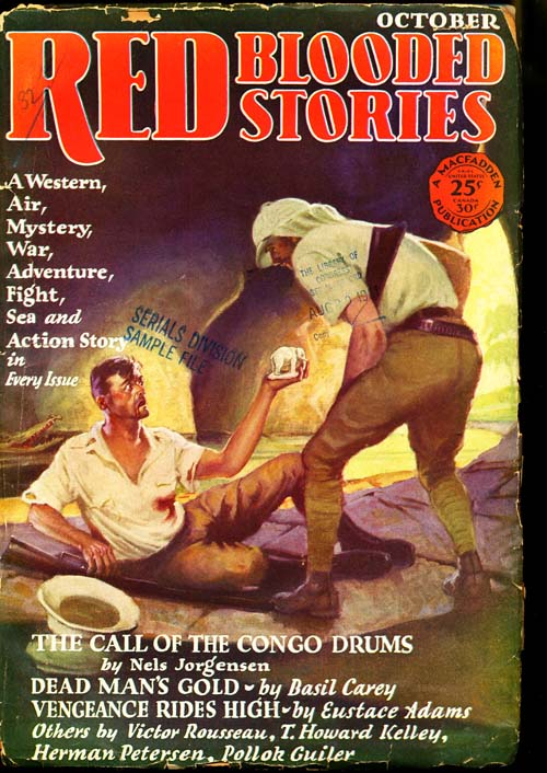 Red Blooded Stories - 10/28 - GOOD - ID#: 80-96160
