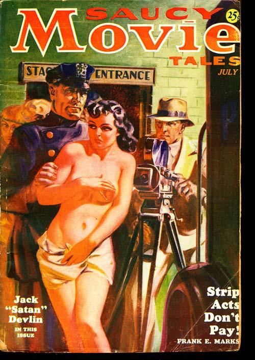 Saucy Movie Tales - 07/36 - GOOD + - ID#: 80-96191