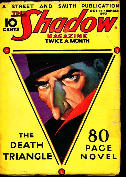 Shadow Magazine - 10/15/33 - VGOOD - ID#: 80-96263