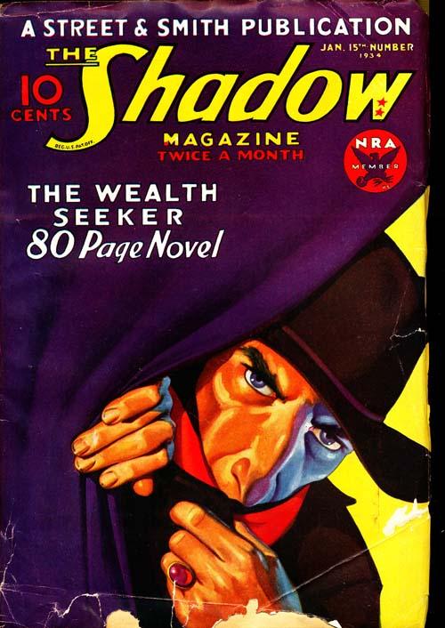 Shadow Magazine - 01/15/34 - GOOD + - ID#: 80-96267