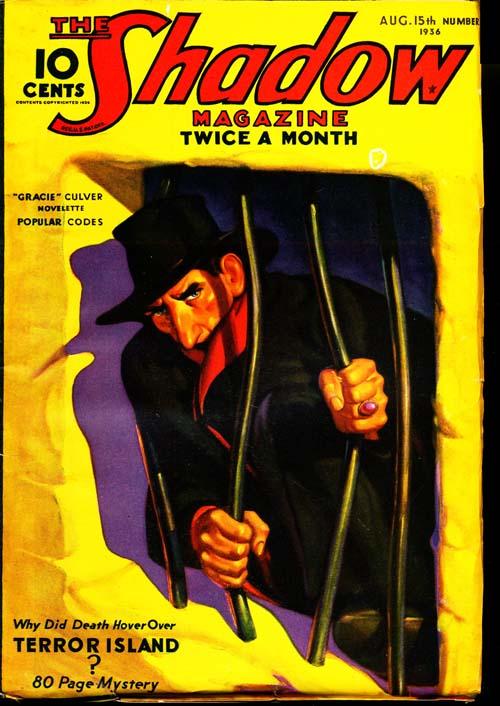 Shadow Magazine - 08/15/36 - FINE - ID#: 80-96310