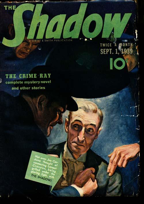 Shadow Magazine - 09/01/39 - FINE - ID#: 80-96330