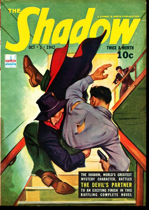 Shadow Magazine - 10/01/42 - FINE + - ID#: 80-96361