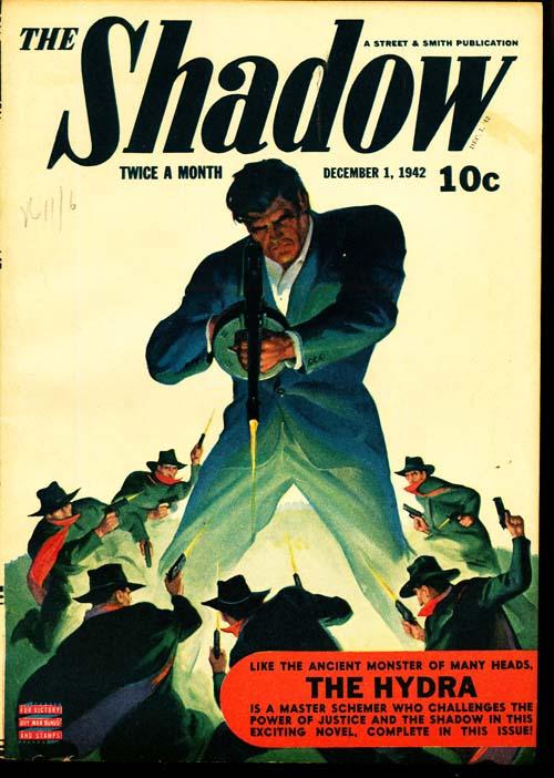 Shadow Magazine - 12/01/42 - FINE + - ID#: 80-96363