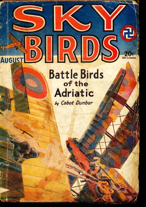 Sky Birds - 08/29 - GOOD + - ID#: 80-96412