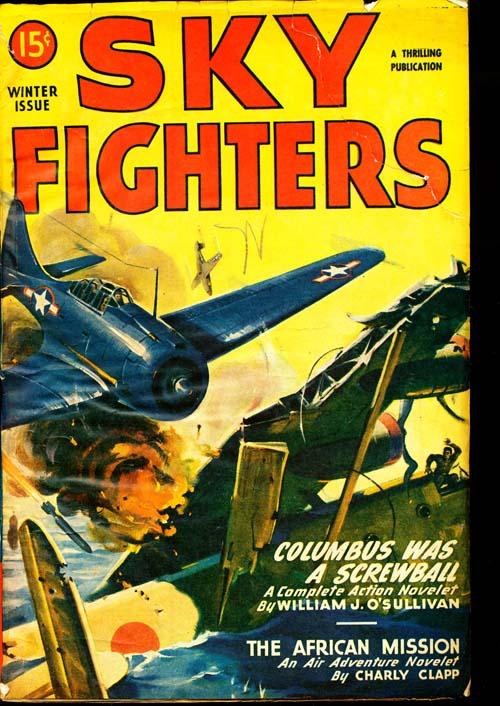 Sky Fighters - WINTER/47 - GOOD + - ID#: 80-96432