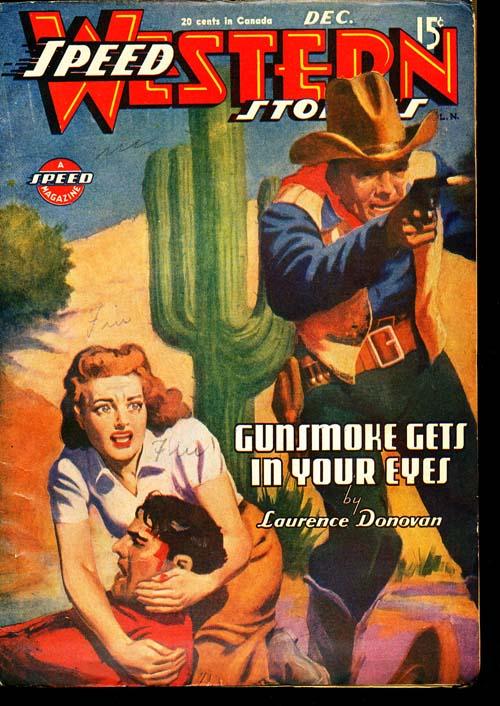 Speed Western Stories - 12/44 - FINE - ID#: 80-96482