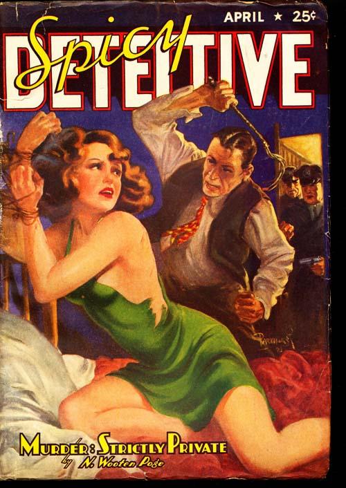 Spicy Detective Stories - 04/39 - FINE - ID#: 80-96506
