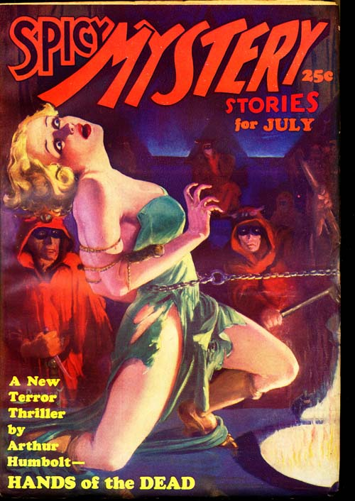 Spicy Mystery Stories - 07/35 - FINE + - ID#: 80-96512