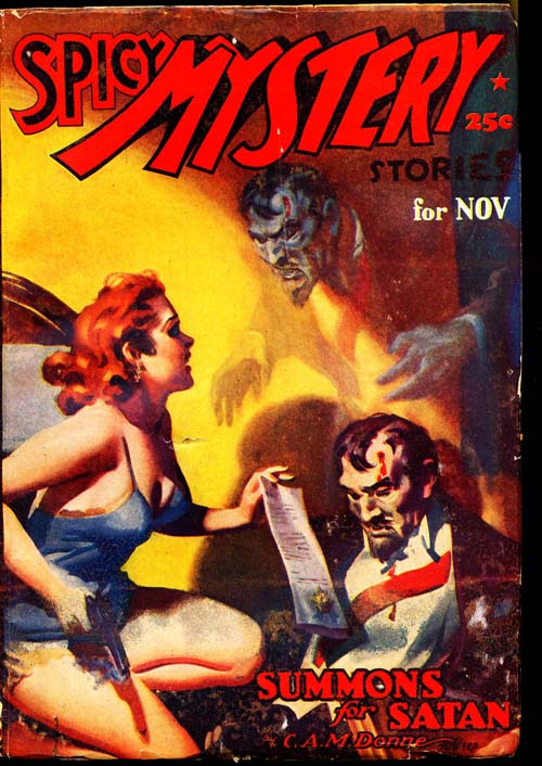 Spicy Mystery Stories - 11/37 - VGOOD - ID#: 80-96537