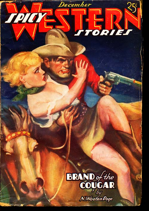 Spicy Western Stories - 12/36 - VGOOD - ID#: 80-96564