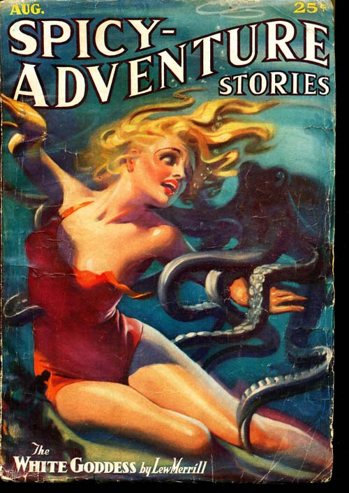 Spicy-Adventure Stories - 08/36 - VGOOD - ID#: 80-96580
