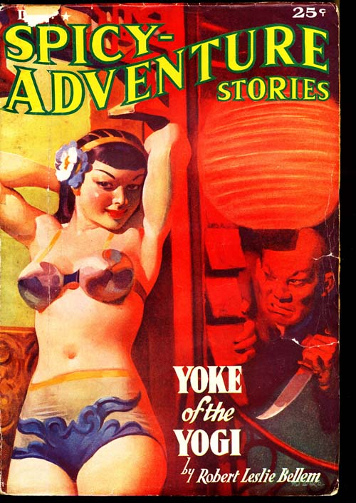 Spicy-Adventure Stories - 12/37 - VGOOD - ID#: 80-96581