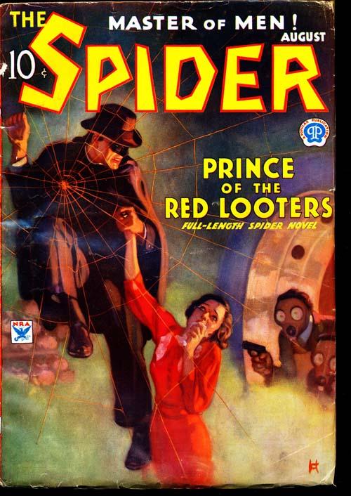 Spider, The - 08/34 - NFINE - ID#: 80-96594